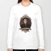 buffy the vampire slayer Long Sleeve T-shirts featuring Angel - Angel/Buffy the Vampire Slayer by muin+staers