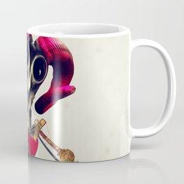 Invader Skull Coffee Mug