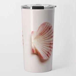 shells with leaves  Travel Mug