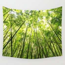 Maui Bamboo Forest Wall Tapestry