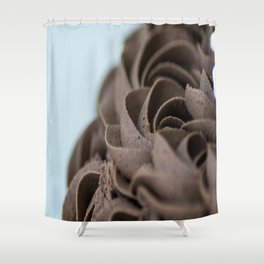 Icing Rosettes Shower Curtain
