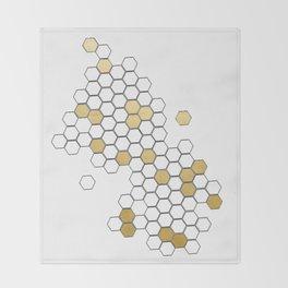 Honey Comb Throw Blanket
