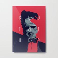 Godfather Metal Print