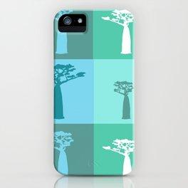 Baobab Azure iPhone Case