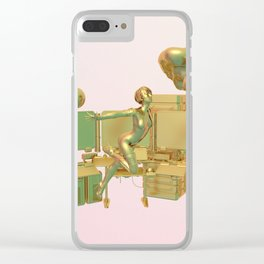 Ghost in the Shelly Clear iPhone Case