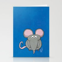 mouse Stationery Cards featuring Mouse by Rafael Martinez