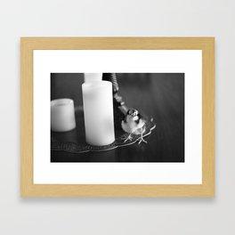 H e l l o~ Framed Art Print