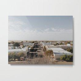 Marfa, Texas Overview Metal Print