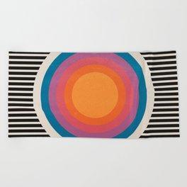 Vintage California Sun Beach Towel