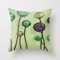 artsy Throw Pillows featuring Artsy Art by Artsy Arts By Rosanna.