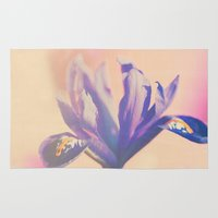 iris Area & Throw Rugs featuring Iris by LoRo  Art & Pictures