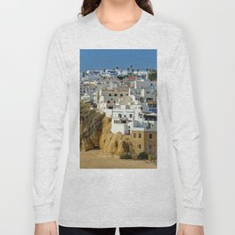 Albufeira old town, Portugal Long Sleeve T-shirt