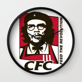 Che's Fried Chicken Wall Clock