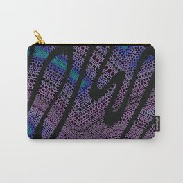 Trippy Circle Swirl - Abstract Art Carry-All Pouch