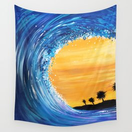 Tidal Wave Wall Tapestry