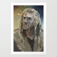 fili Art Prints featuring Fili by PrintsofErebor