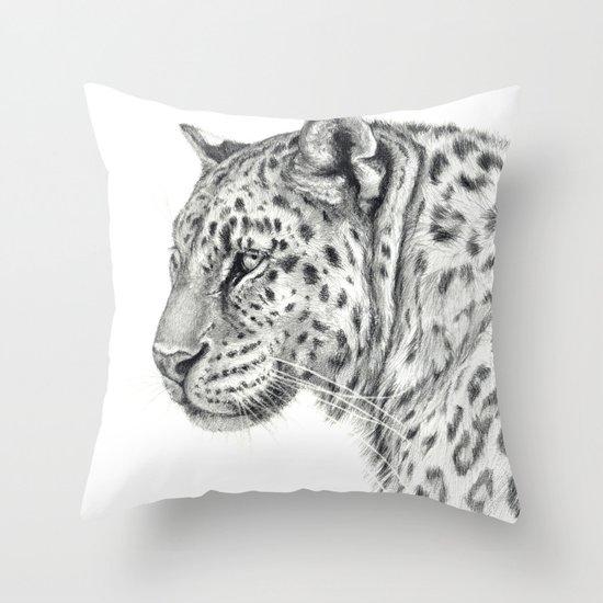 Panthera G013 Throw Pillow