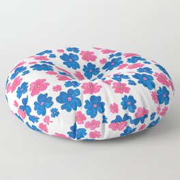BOLD FLORALS Floor Pillow