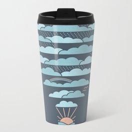 Weather Balloon Metal Travel Mug