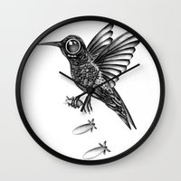 war Wall Clocks featuring War by Havier Rguez.