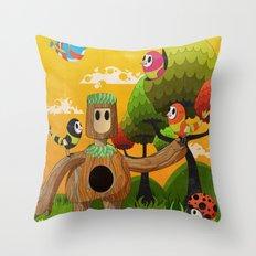 Treeborn Throw Pillow