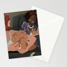 Ticklish Revenge Stationery Cards