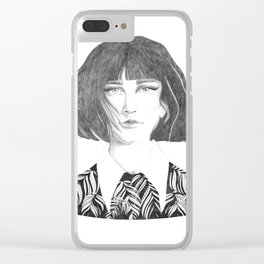 Elisabeth Clear iPhone Case