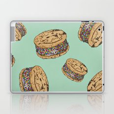 THERE'S ALWAYS TIME FOR AN ICE CREAM SANDWICH WITH CHOCOLATE CHIPS AND FUNFETTIS! - MINT Laptop & iPad Skin