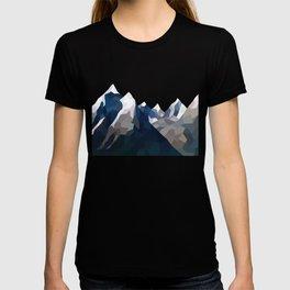 Geo Mountain Range (Part 2) T-shirt