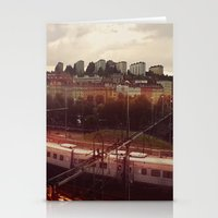 stockholm Stationery Cards featuring Stockholm 02 by Viviana Gonzalez