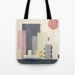 City on Earth Tote Bag