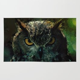 Owl - Owlish Tendencies Rug