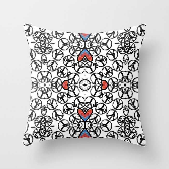 Peace And Love Throw Pillow By Terrell Society6