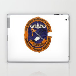USS GEORGE WASHINGTON CARVER (SSBN-656) PATCH Laptop & iPad Skin