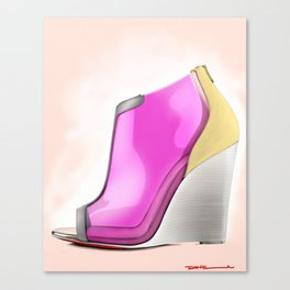 RED BOTTOMS Canvas Print