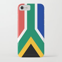 Flag of South Africa iPhone Case