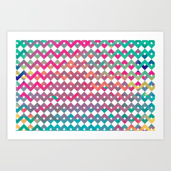 Lab colors II Art Print