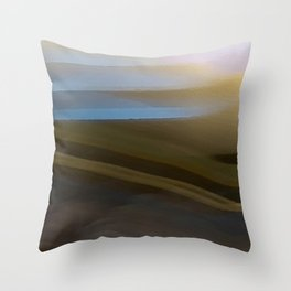 Chocolate Dawn Throw Pillow