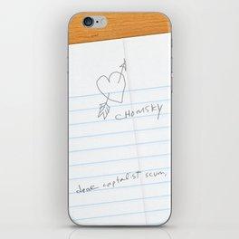 I've Learned; [Dear Capitalist Scum] iPhone Skin