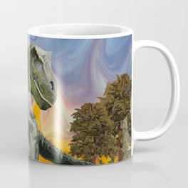 Tyrannosaurus Rex at the Twilight Hour Coffee Mug