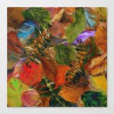 Autumn Leaf Fall 2 Canvas Print