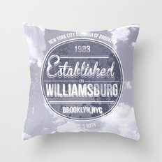 NYC workwear Throw Pillow
