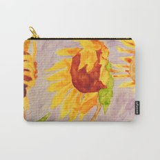 Sunflowers | Tournesols Carry-All Pouch