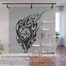 Diamond Eyes Wolf Wall Mural