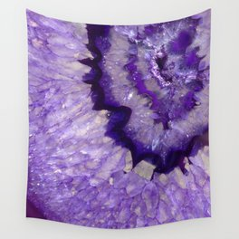 Purple Crystal Wall Tapestry