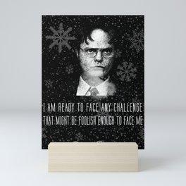 DwightSchrute Mini Art Print