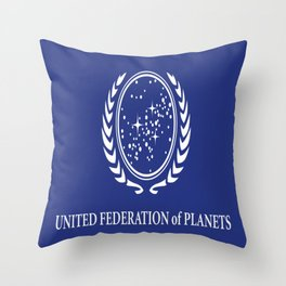 United Fed of Planets II Throw Pillow