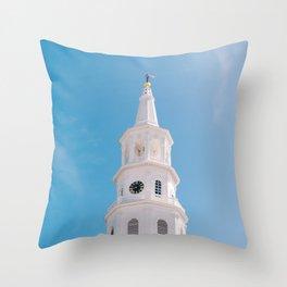 Charleston Steeple VI Throw Pillow