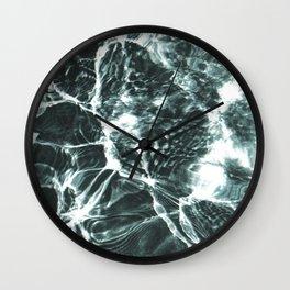 Summer Pool Wall Clock