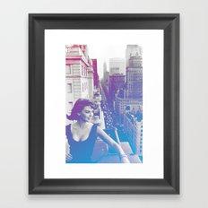 Natalie Wood Cityscape Framed Art Print